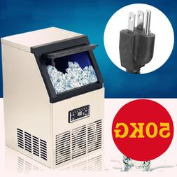 NEW COMMERCIAL ICE MAKER / MACHINE 50KG/24 HOURS 11.5KG STOR