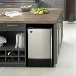 "Whynter 15"" 12 lb. Daily Production Built-In Ice Maker"