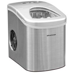 Frigidaire 26lb Countertop Ice Maker Stainless Steel  FACTOR