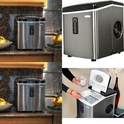 28 Lb. Freestanding Ice Maker In Stainless Steel