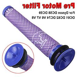 Vovomay 2PC Compatible Pre-Filter Washable Pre Motor Filter