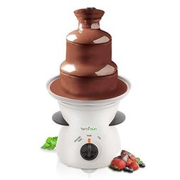 3 Tier Chocolate Fondue Fountain - Electric Stainless Choco