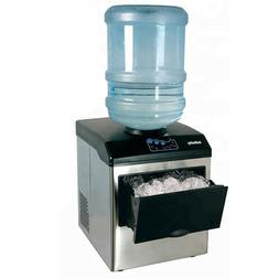 33 Lb/Day Table Top Ice Maker Making Machine Portable for 5