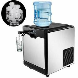 35KG/24H Ice Maker with Cool Water Dispenser 14LBS Storage I