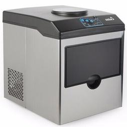 Electric 5 Gallon Cool Water Dispenser w/ Built-In Ice Maker
