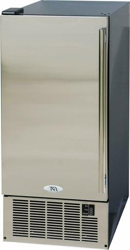 Sunpentown 50 Lbs. Ice Maker - SS Door - IM-600US