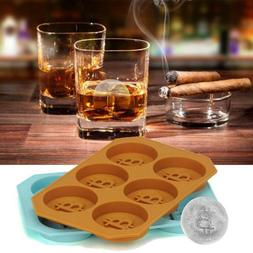 6 Grids Bitcoin Silicone Ice Cube Tray DIY Baking Mold Kitch