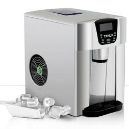 2 in 1 Portable Electric Fridge Ice Maker Cube Machine Count