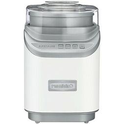 Cuisinart ICE-60W Cool Creations Ice Cream Maker, White