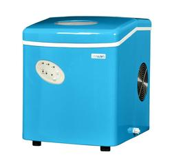 NewAir AI-100CB Portable Ice Maker - 28 lb Per Day - Cyan Bl
