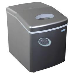 NewAir AI-100S 28-Pound Portable Ice Maker, Silver NEW
