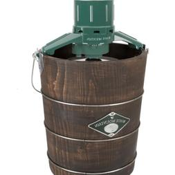 White Mountain Appalachian Series 4-qt. Wooden Bucket Electr