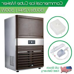 Automatic Commercial Ice Maker Stainless Steel Cube Ice Make