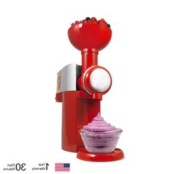 110V Automatic Ice Cream Makers Frozen Fruit Dessert DIY Mil