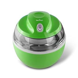 NutriChef AZPKICCM20 Ice Cream Maker, 7.1 x 7.1 x 7.1 inches
