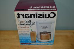Brand NEW Cuisinart 4 Cup Iced Cappuccino or 8 Cup Hot Espre