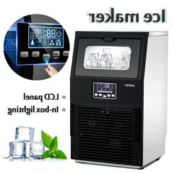 Built-in Commercial Ice Maker Portable Auto Ice Cube Machine
