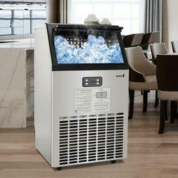Built-In  Portable Stainless Steel Commercial Ice Maker Mach