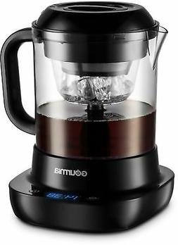 Cold Brew Iced Coffee Maker 4 Cup 24 Oz Black Automatic Brew
