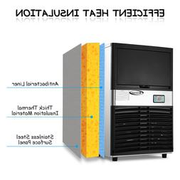 Costway Commercial Ice Maker Automatic Stainless Steel 100lb
