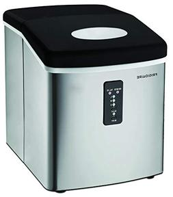 Igloo Compact Ice Maker, Stainless Steel