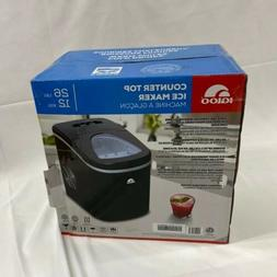 Igloo Compact Ice Maker - ICE117 Stainless Steel