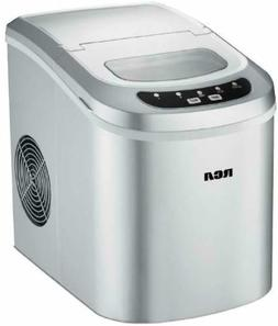 Compact Ice Maker Portable Delux Mini Nugget Soft Counter To