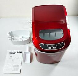 RCA Compact Ice Maker, Red. Pickup Only.