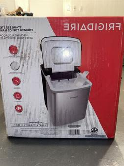 Frigidaire Counter Top Ice Maker, Produces 26 pounds Ice per
