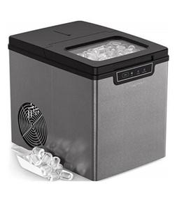 Vremi Countertop Ice Maker Ice Cubes Ready