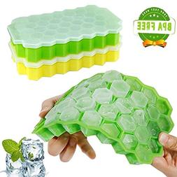 Miraz Ice Cube Maker Ice Cube Trays Silicone Mold Dual-use I