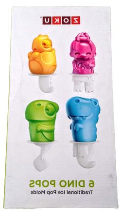 Zoku Dino Pop Molds Automatically Invert to Easily Release N