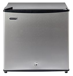 Energy Star Upright Freezer, Lock Stainless Steel 1.1 cu ft