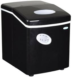 Freestanding Ice Maker In Black 28 lb. Push Button Control C