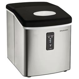 Frigidaire 26 lb. Freestanding Ice Maker in Stainless Steel,