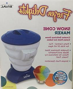 Rival Frozen Delights Snow Cone Maker Blue Kids Party Shaved