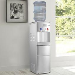 Home Top Loading Hot/Cold Water Dispenser with Built-In Ice