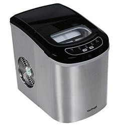 Northair HZB-12/SA Portable Ice Maker Machine Counter Top wi