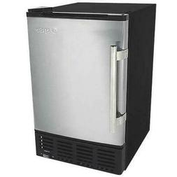 "EdgeStar IB120 15""W 6 Lbs. Capacity Built-In Ice Maker - Sta"