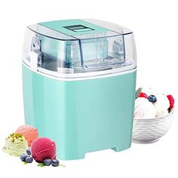 Costway Ice Cream Maker 1.6 Quart Automatic Macarons Color I