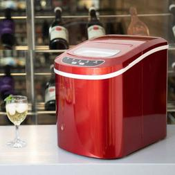 Electric Portable Ice Maker Compact Ice Cube Machine  Counte