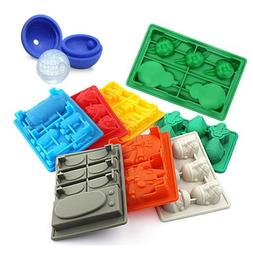 Ice Cubes Tray Silicone Mold Ice Cream Makers Chocolate Moul