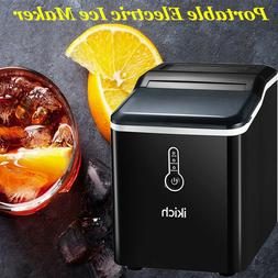 IKICH Ice Maker Countertop, Portable Electric Ice Maker with