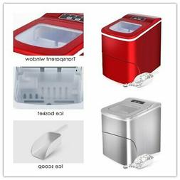 Ice Maker Frigidaire Compact Countertop 2 Ice Cube Size Make
