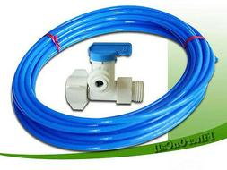 Ice maker kit refrigerator Feed Water Adapter poly tube conn