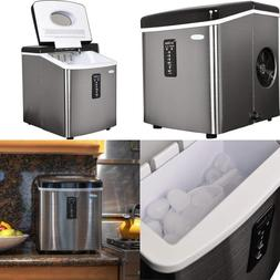 Ice Maker Machine Compact Countertop Portable Sonic Cube Nug