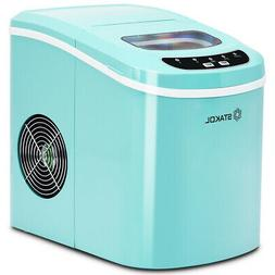 Ice Maker Machine Ice Cubes Ready in 8 Mins Make 26 lbs Ice