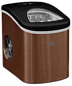 Igloo ICE117-SSCOPPER Compact Ice Maker- Makes 26 lbs. of ic