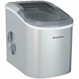 Igloo ICE206 Counter Top Compact Ice Maker, Silver, with See