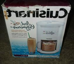 Cuisinart Iced Cappuccino Maker ICAPP-4 4 Cup